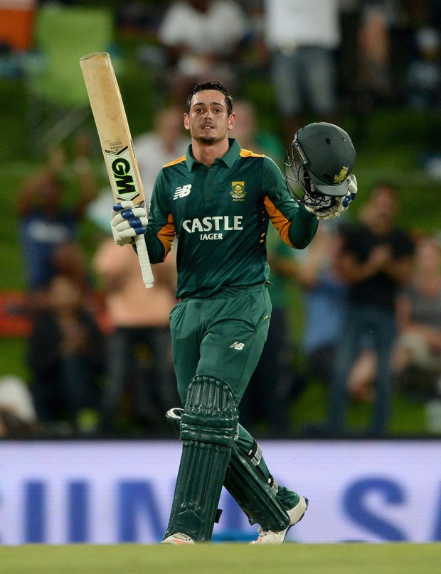 Quinton de Kock Brought Up His Tenth ODI