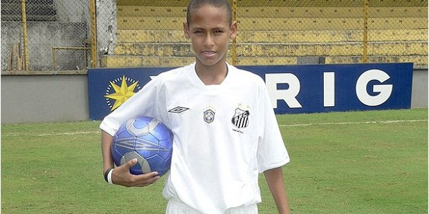 Neymar in His Childhood