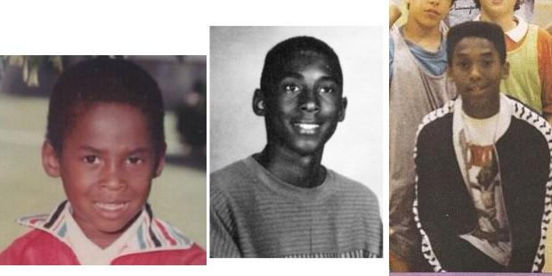 Kobe in His Childhood