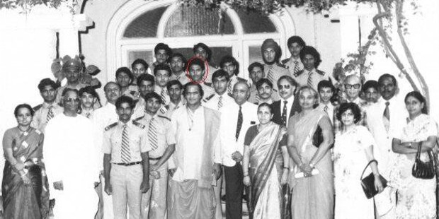 Satya Nadella During His School Days in Hyderabad