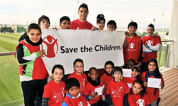 Ronaldo is Brand Ambassador for Child Hunger and Nutrition