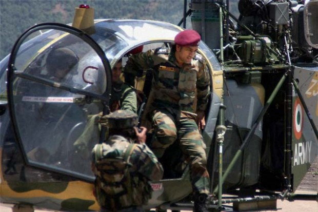 Lieutenant Colonel Mahendra Singh Dhoni in Army Sessions