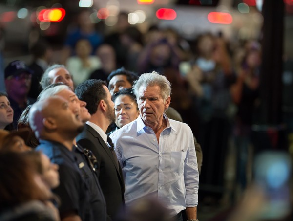 Harrison Ford at  at Jimmy Kimmel Live