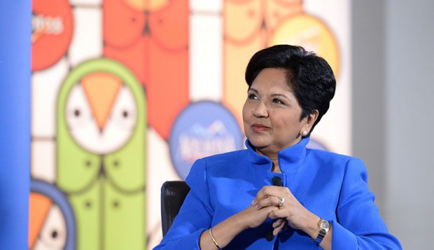 Indra Nooyi in an interview talking about Global Economy