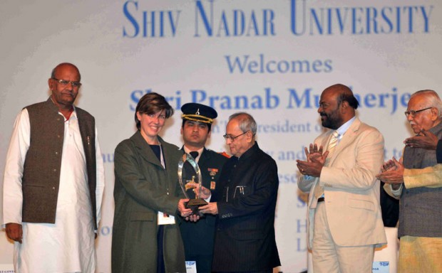 Shiv Nadar at Inauguration of  Shiv Nadar University