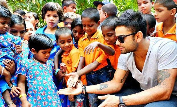 Virat at a Charity Event