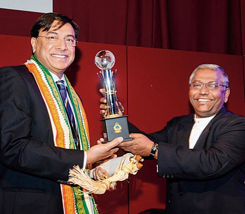 L.Mittal Receives the Global Xaverian Award