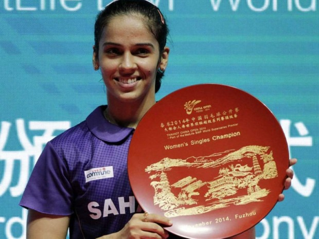 Saina Nehwal at China Open