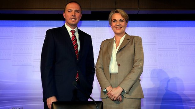 Peter Dutton and Tanya Plibersek