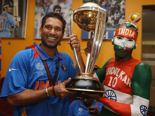Sachin Sharing 2011 Worldcup With His Biggest Fan