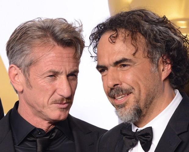 Alejandro González Iñárritu With Sean Penn