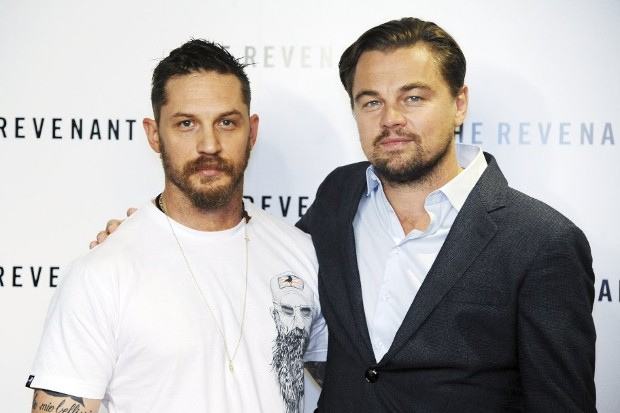 Tom Hardy With Leonardo DiCaprio