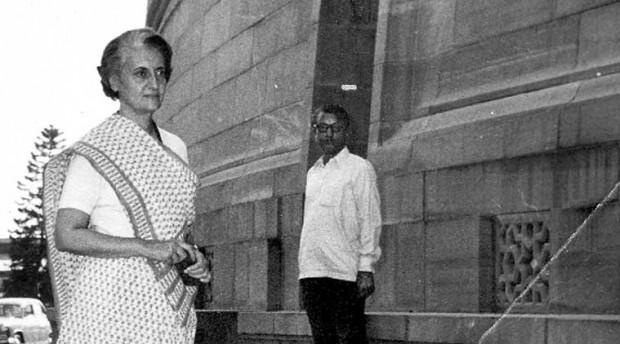 Indira Gandhi at 1975 Emergency Time