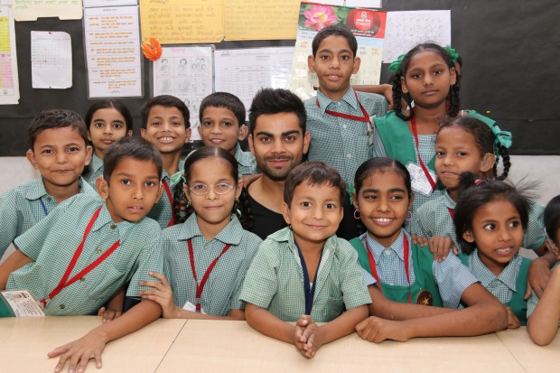 Kohli With NGO Charity Event