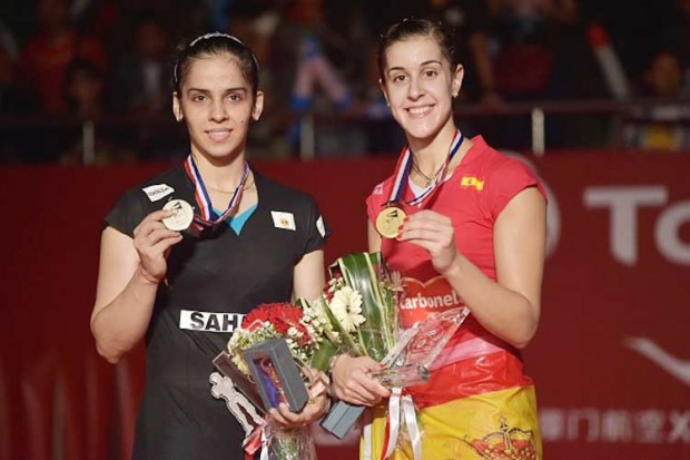 Saina Nehwal as Runnerup in World Badminton Championship