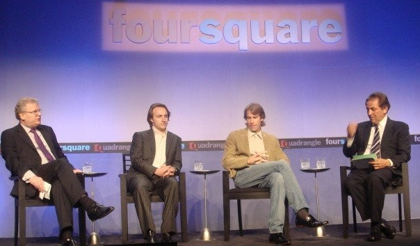 Chad Hurley in Foursquare