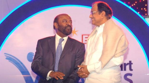 Shiv Nadar at ET India Mart Awards
