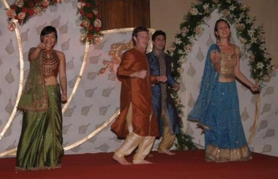 Facebook Founder Mark Zuckerberg Dancing at Wedding in India