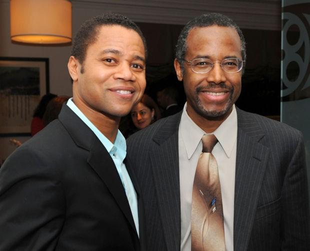 Ben Carson with Actor Cuba Gooding Jr.