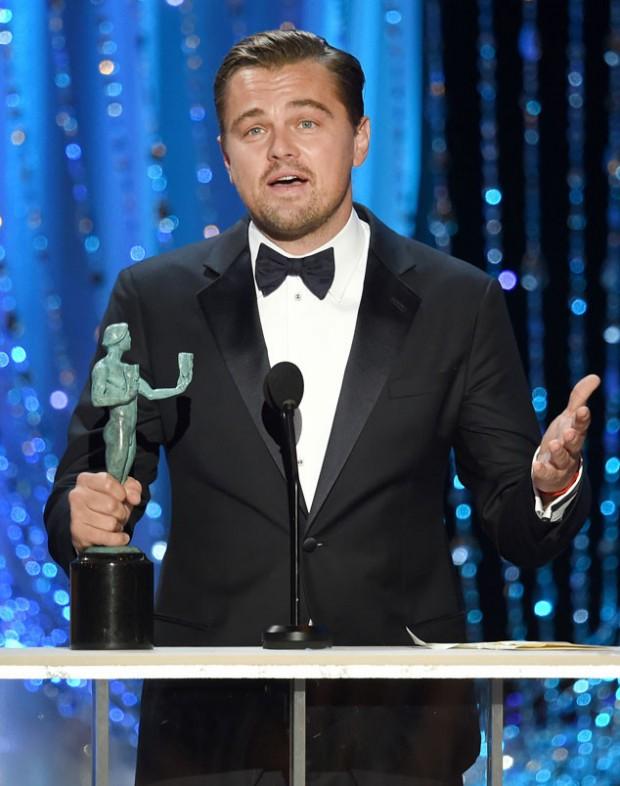 Leonardo DiCaprio Won SAG Award