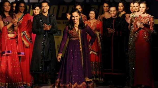 Saina Walking on Ramp at an Event in Delhi