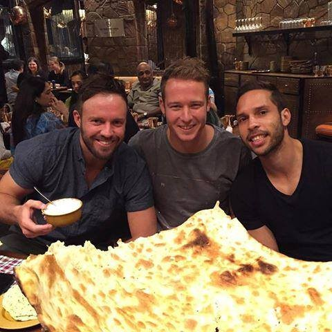 ABD in an Indian Restaurant