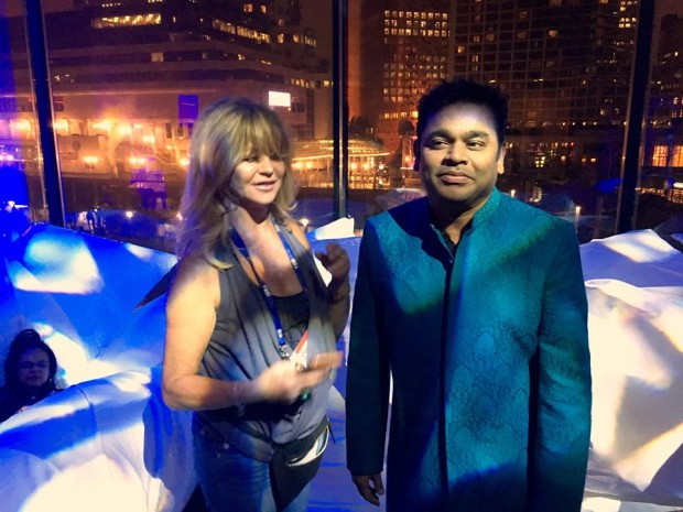 Rahman at  Vancouver, British Columbia