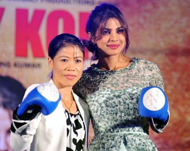 Mary Kom With Priyanka Chopra