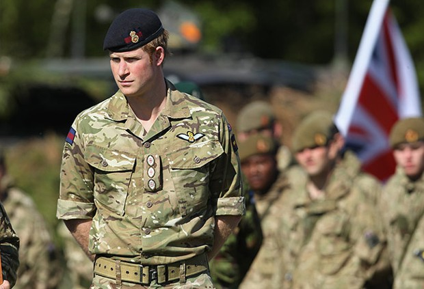 Prince Harry In Army