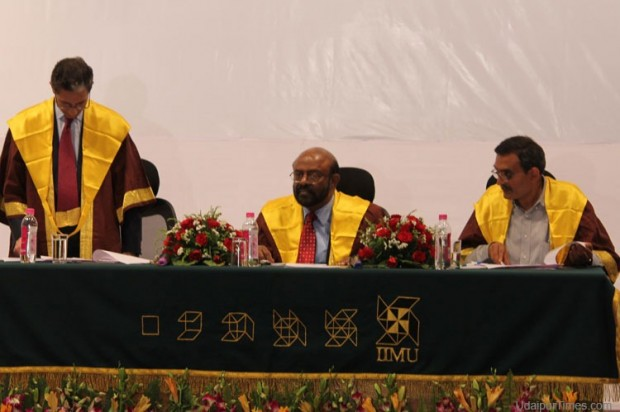 Shiv Nadar at IIM Udaipur Convocation