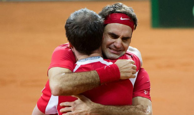 Roger Federer Special Moment