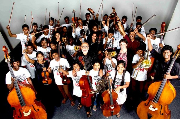 AR Rahman's Sun Shine Orchestra Foundation Students