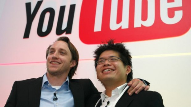 Chad Hurley and Steve Chen