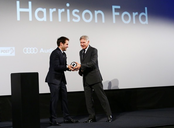 Harrison Ford Receives the Golden Eye For Lifetime Achievement