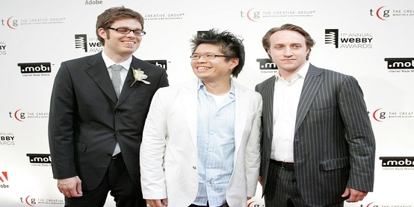 Jawed Karim, Chad hurley and Steve chen