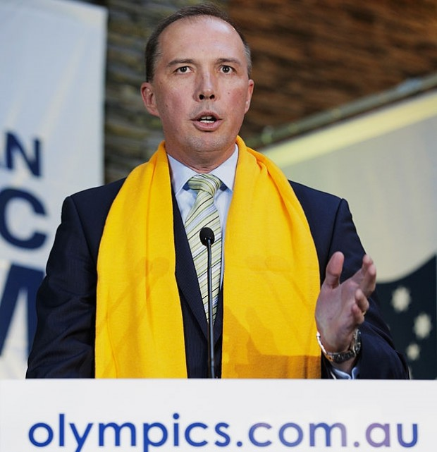 Peter Dutton Speaks At Sochi Olympics Opening Ceremony