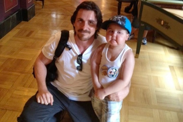 Christian Bale Fulfills the Wish of a Dying Boy Who Wants to Meet Batman