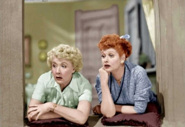 With Best Friend Vivian Vance
