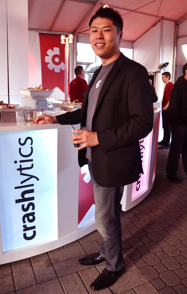 Wayne Chang At Crashlytics Office