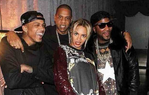 August Alsina, Jay z and Beyonce