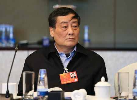 Zong Qinghou at an event in Beijing