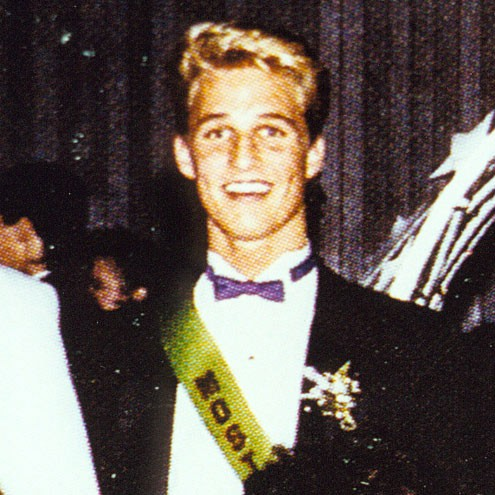 Matthew Mcconaughey At High School