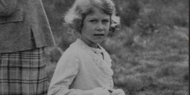 Queen Elizabeth II in Scotland in 1933