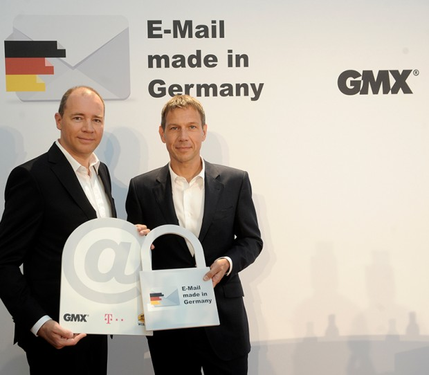 At the Opening of German Email
