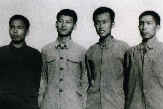 Xi Jinping in 1973