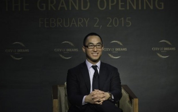 Lawrence Ho At Opening of City of Dreams