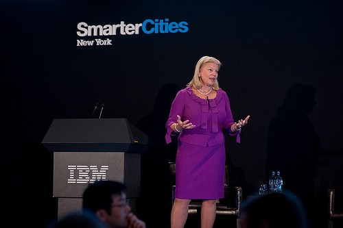 Ginni Rometty On IBM Building a Smarter City