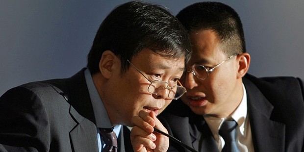 Richard Li With Zhang Chunjiang