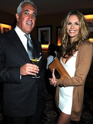 Lawrence Stroll with Elle MacPherson