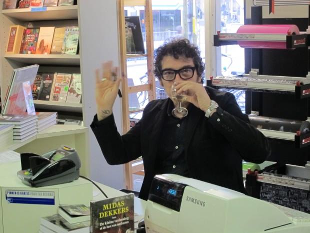 Sandro Veronesi At Office